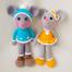 Вязаные игрушки Веселые Мышки набор купить