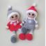 Кукла амигуруми СНЕЖИНКА купить недорого