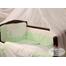 Детский постельный комплект DARLING зеленый в кроватку