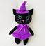 Вязаная игрушка Кошка-ведьмочка купить Киев